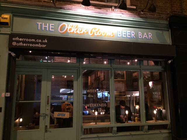 Micro-pub 2.0 – The Other Room – Beer Insider